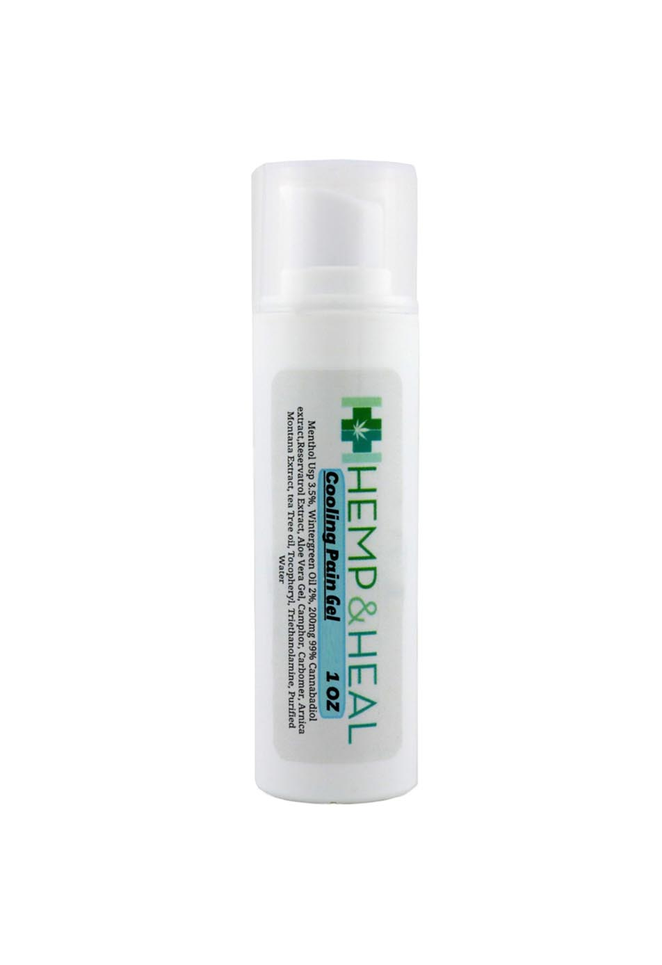 Rapid Cooling Cannabidiol Topical Gel